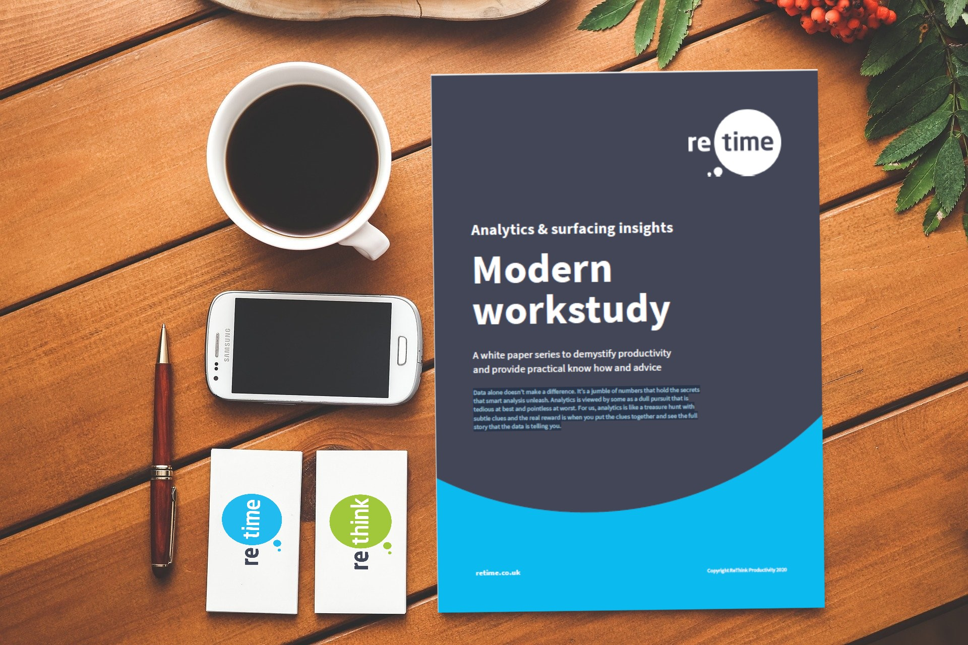 ReTime - Analytics & Surfacing Insights Modern Workstudy
